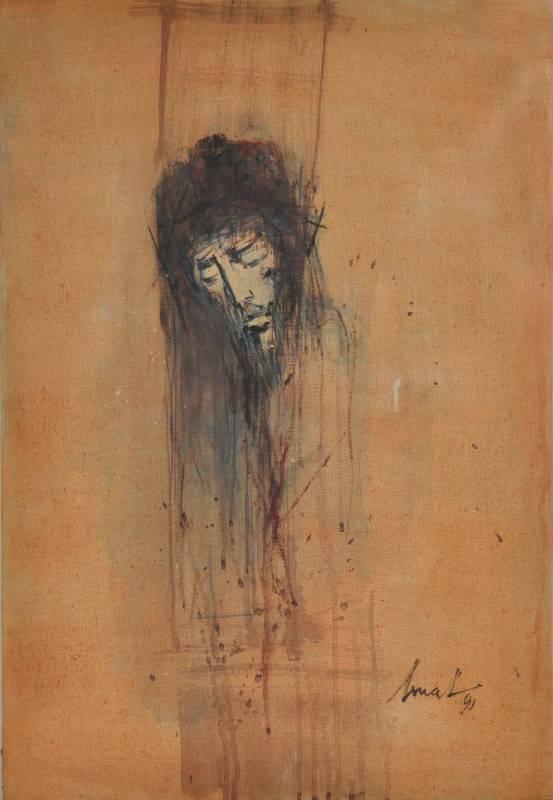 Artur Bual. Cristo. 1991