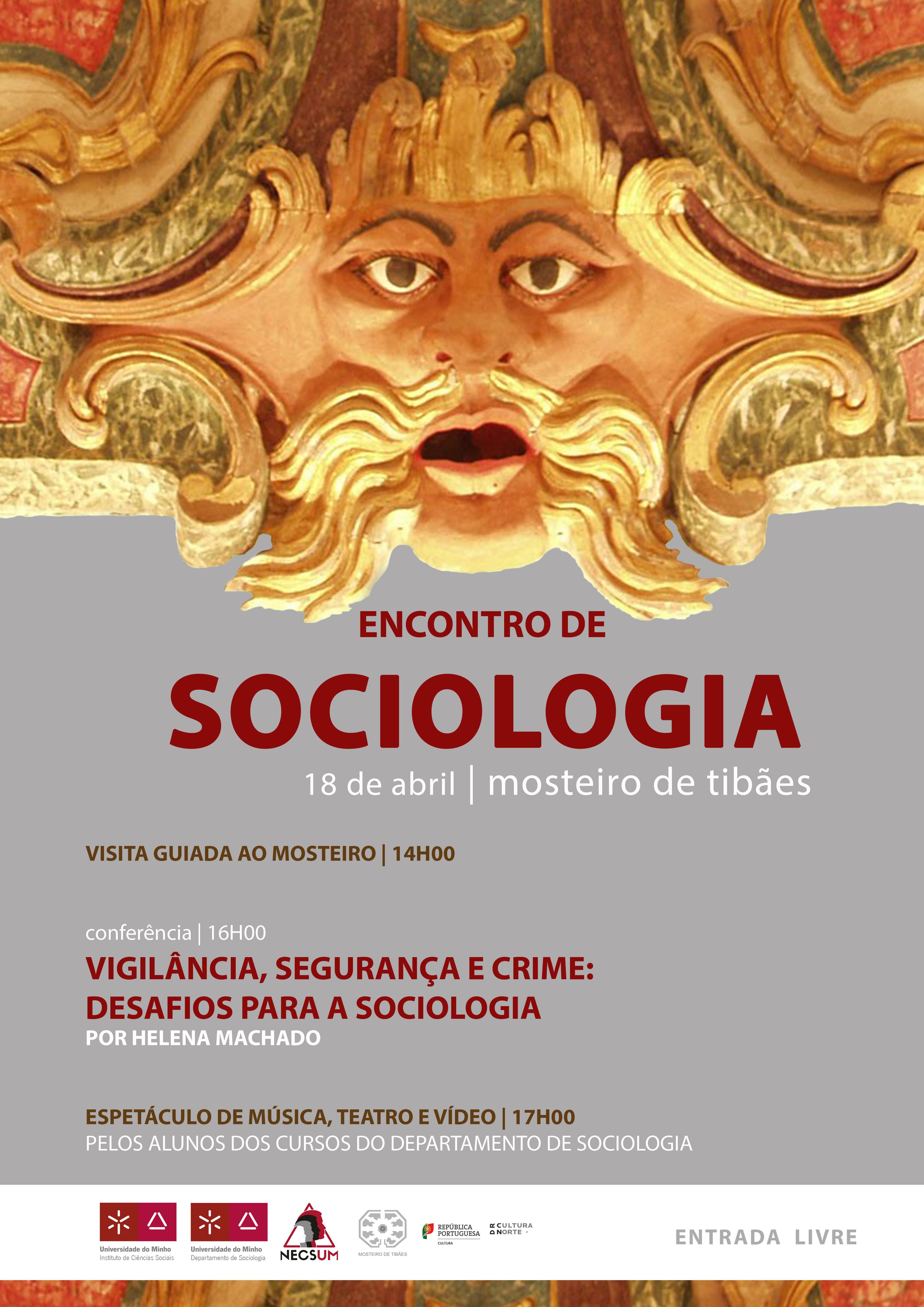 Cartaz Encontro Sociologia