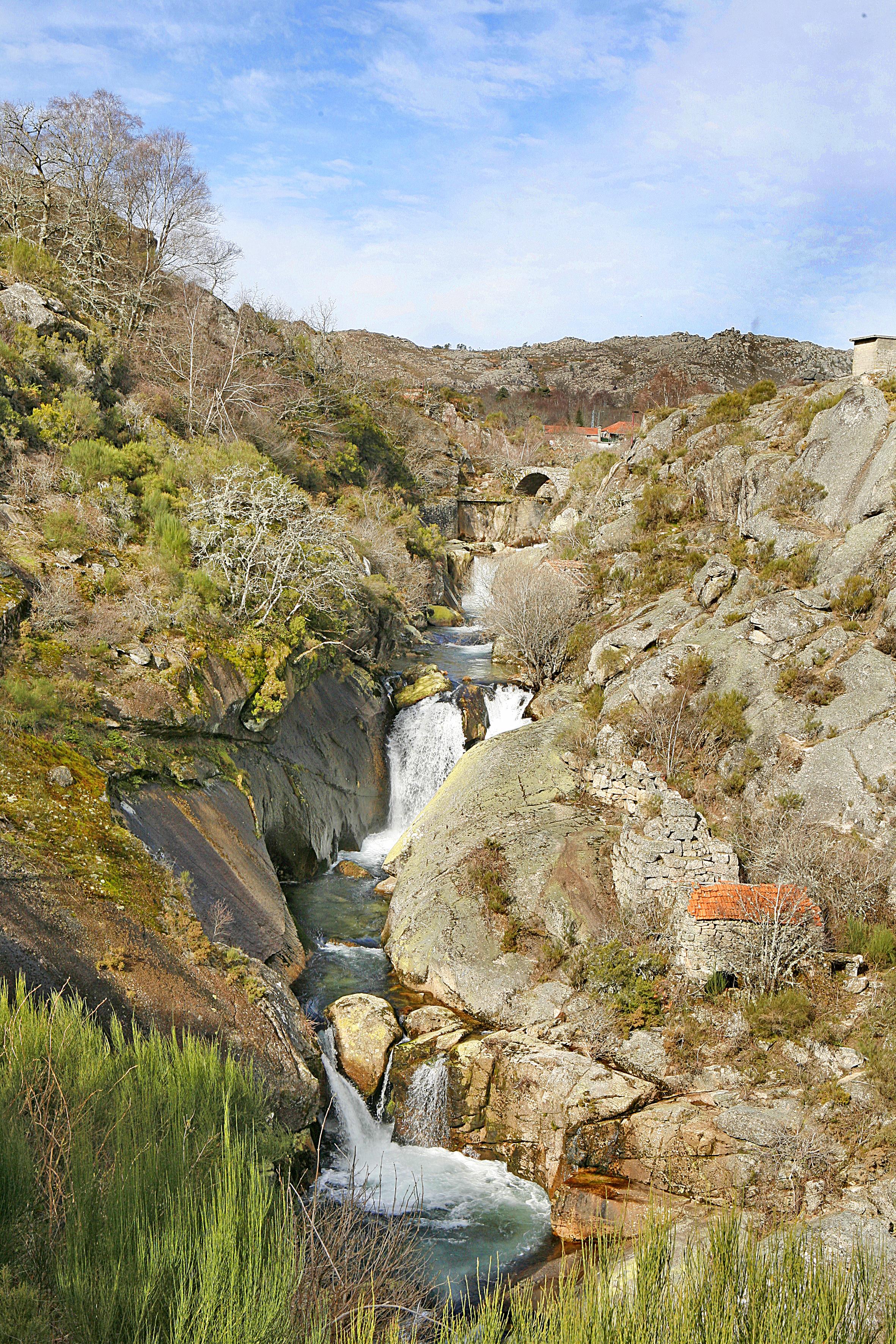 Cascatas do rio Laboreiro. Castro Laboreiro. Fotografia cedida pela câmara municipal de Melgaço.