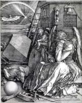 08. Albrecht Dürer. Melancolia. 1514.