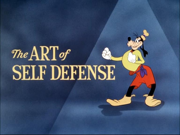 goofy self defense