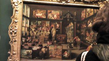 Galeria Nacional da Escócia. Quadro de Willem van Haecht.