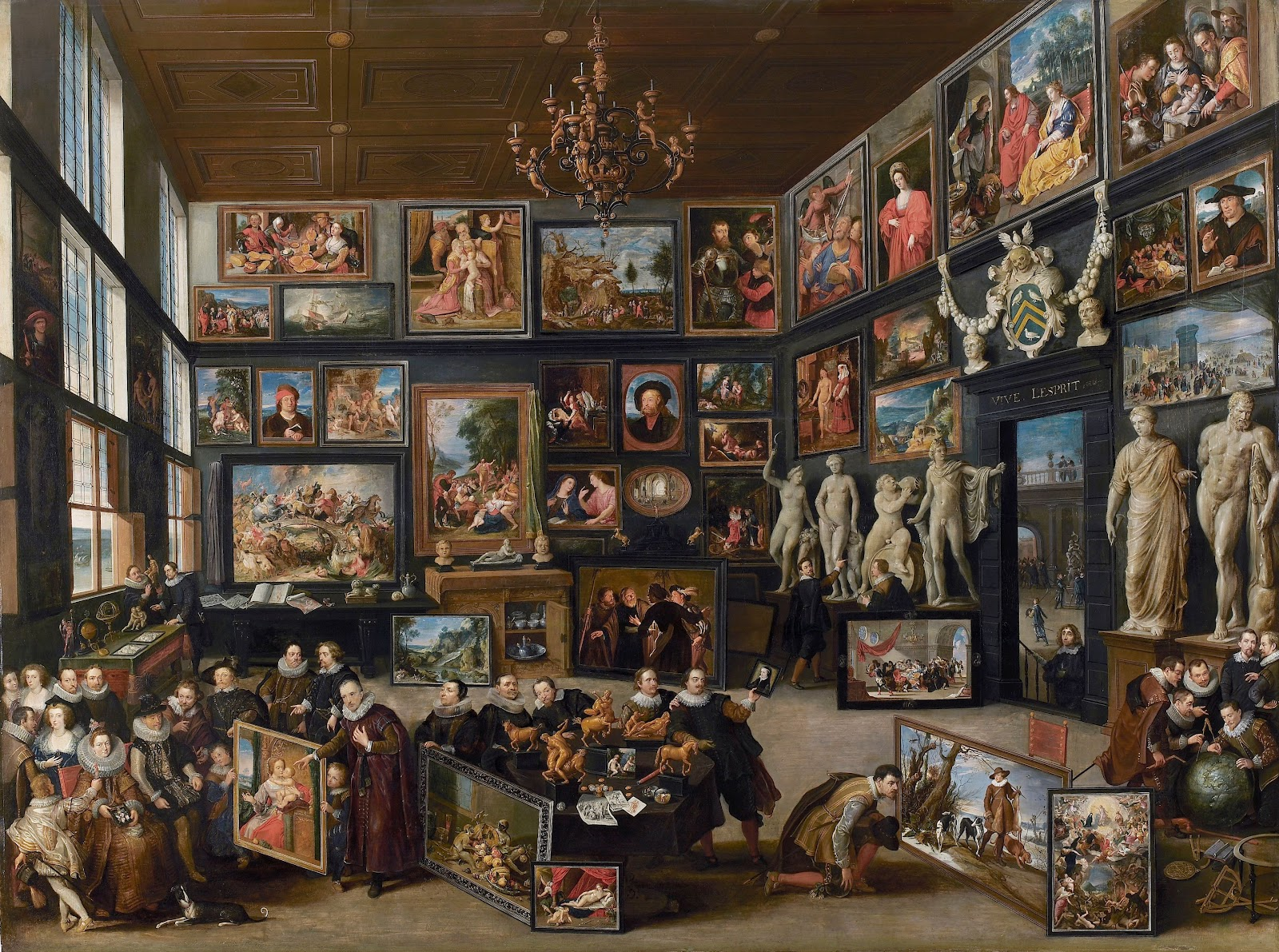 Haecht. The Gallery of Cornelis van der Geest. 1625.2