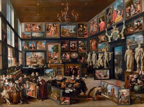 Haecht. The Gallery of Cornelis van der Geest. 1625.2