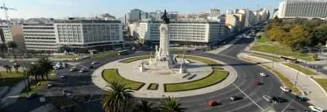 Praça do Marquês do Pombal. Lisboa.