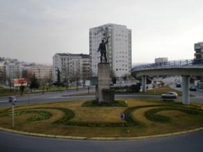 Estátua de Santos da Cunha. Braga.