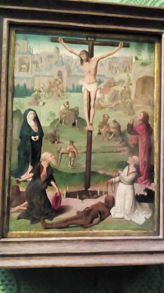 Geertgen tot Sint Jans. Crucifixion (c. 1490).