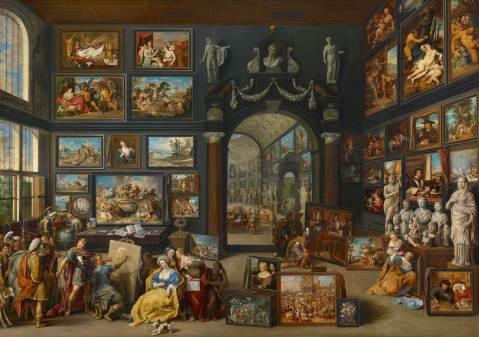 Willem_van_Haecht_(II)_-_Apelles_painting_Campaspe. ca 1630