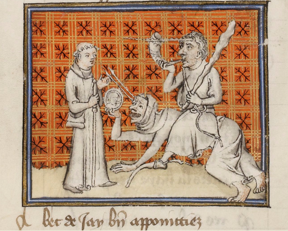 Guillaume de Digulleville (1295-1380), Pèlerinage de vie humaine; Pèlerinage de l'âme.