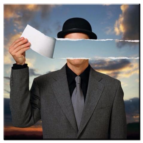 René Magritte. Mundo Invisível. 1954.
