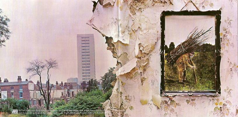 Led Zeppelin IV. Capa.