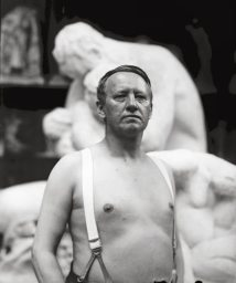 02.Gustav Vigeland in the studio. 28 May 1917