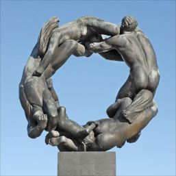 10. Gustav Vigeland. Wheel of life. 1934