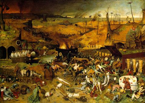 11. Pieter Bruegel the Elder - The Triumph of Death (1562).