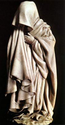 02. Pranteador, 1390-1406 Claus Sluter. Túmulo de Felipe, o Audaz, Duque de Borgonha Museu de Arqueologia, Dijon