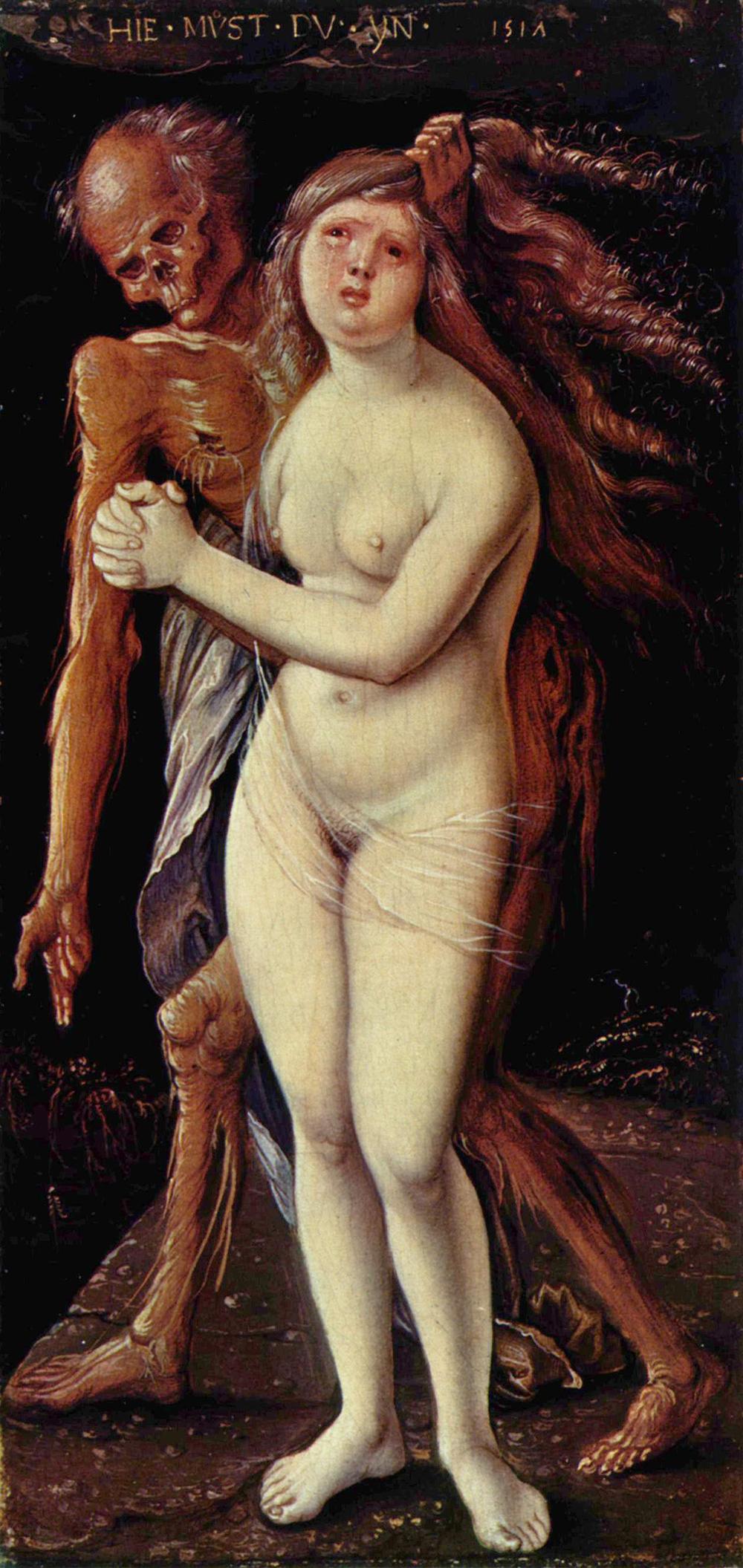 04. Hans Baldung Grien. 1518-20 Death and the Maiden.