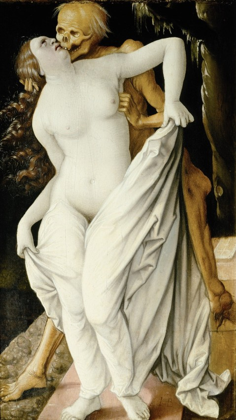 05. Hans Baldung Grien. 1518-20 Death and the Maiden.