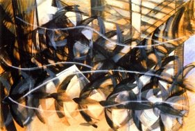 06. Giacomo Balla. flight of the swallows.1913.
