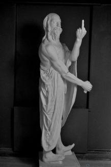Estátua de Diogenes