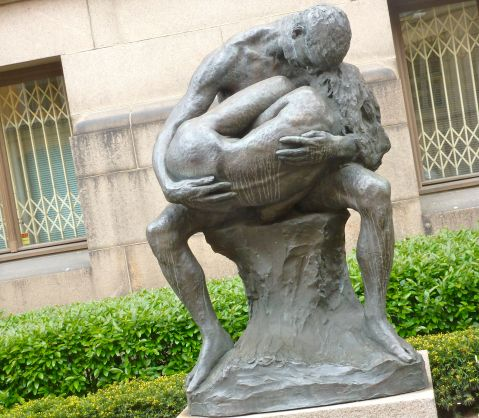 Gustav Vigeland (1869-1943) - Man and woman (1905)
