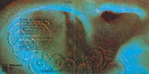 Pink Floyd. Fearless. Meddle. 1971