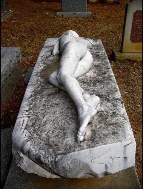 04. Peter Schipperheyn. Asleep. Mt Macedon Cemetery in Victoria, Australia. 1987