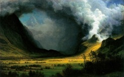 04. Albert Bierstadt's Storm in the Mountains.c 1870.