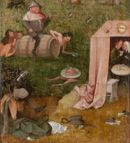 05. Hieronimus Bosch. Gluttony and Lust, ca. 1495–1500. Oak Yale University Art Gallery