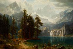 05. Sierra Nevada. Albert Bierstadt. 1871-1873.