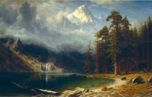 07. Albert Bierstadt. Mount Corcoran.