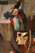 6. Hieronymus Bosch. The Temptation of Saint Anthony. Detail, ca. 1500–10.