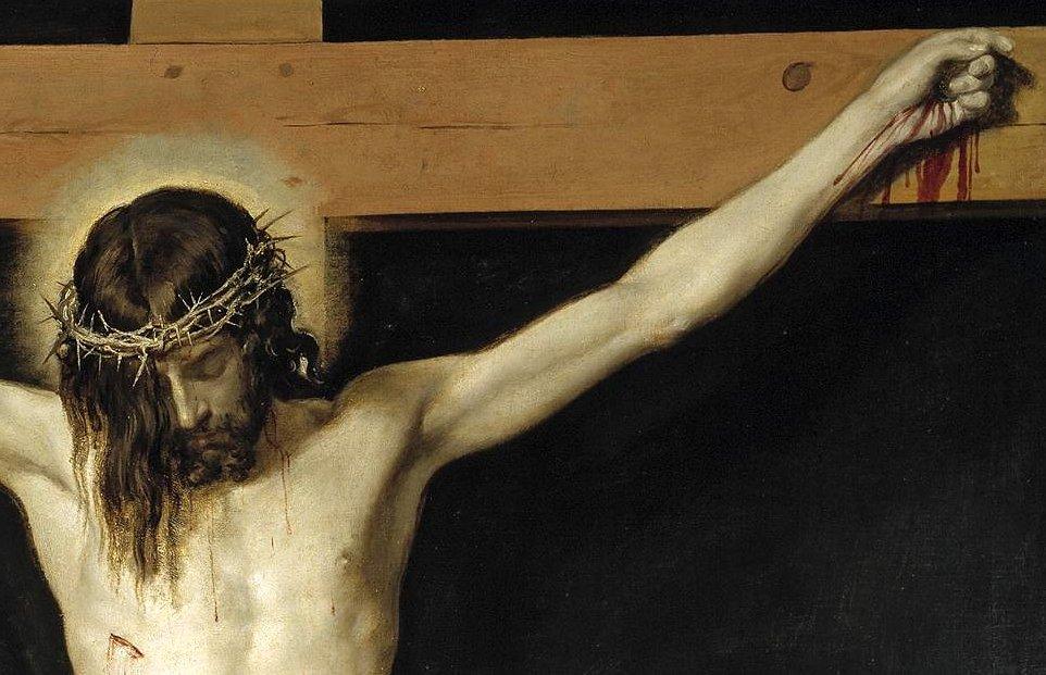Diego Velázquez. Cristo Crucificado. ca. 1632.