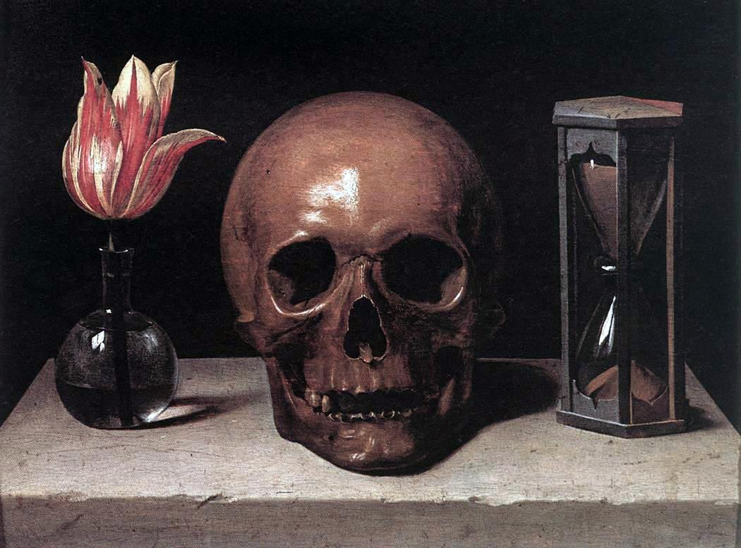 Philippe de Champaigne. Still-Life with a Skull. 1671.