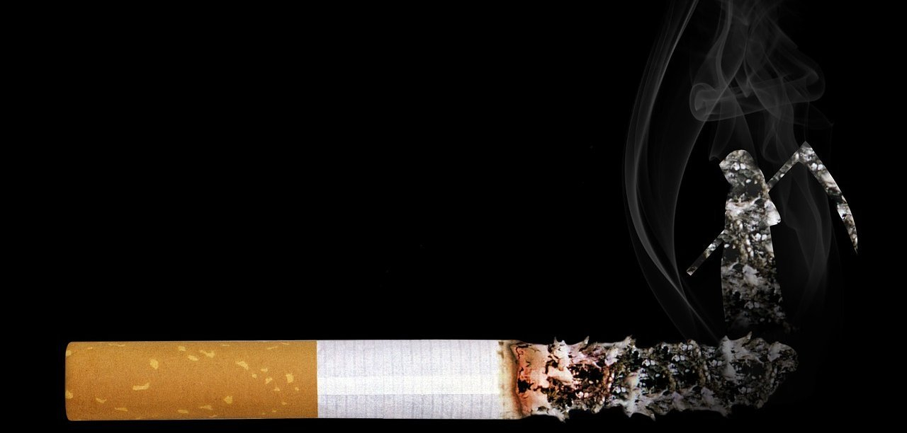 O cigarro e a morte