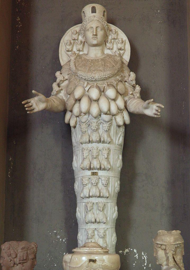 06. Ártemis de Éfeso. Hadrian's Villa. Vatican Museums
