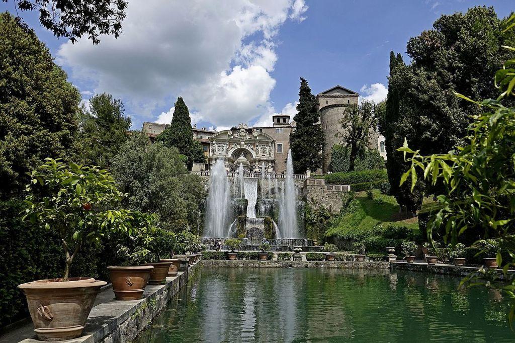 08. Villa d'Este. Fonte do órgão