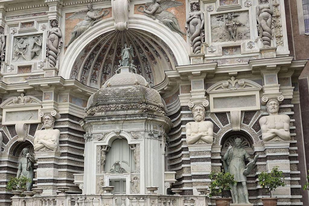 09. Fonte do órgão. Pormenor. Villa d'Este
