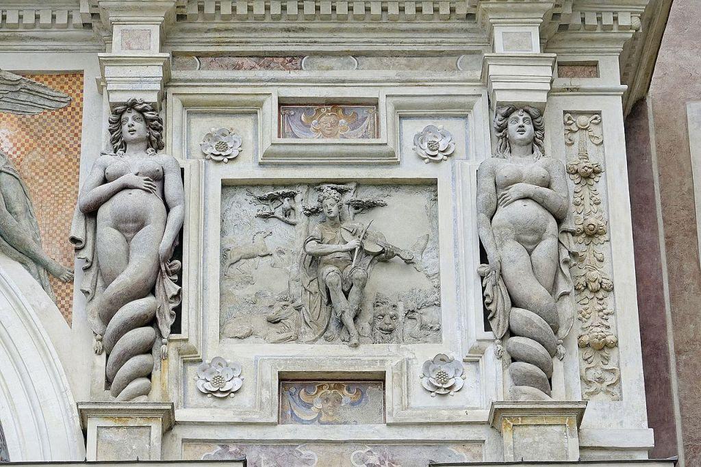 10. Fonte do órgão. Pormenorl. Villa D'Este