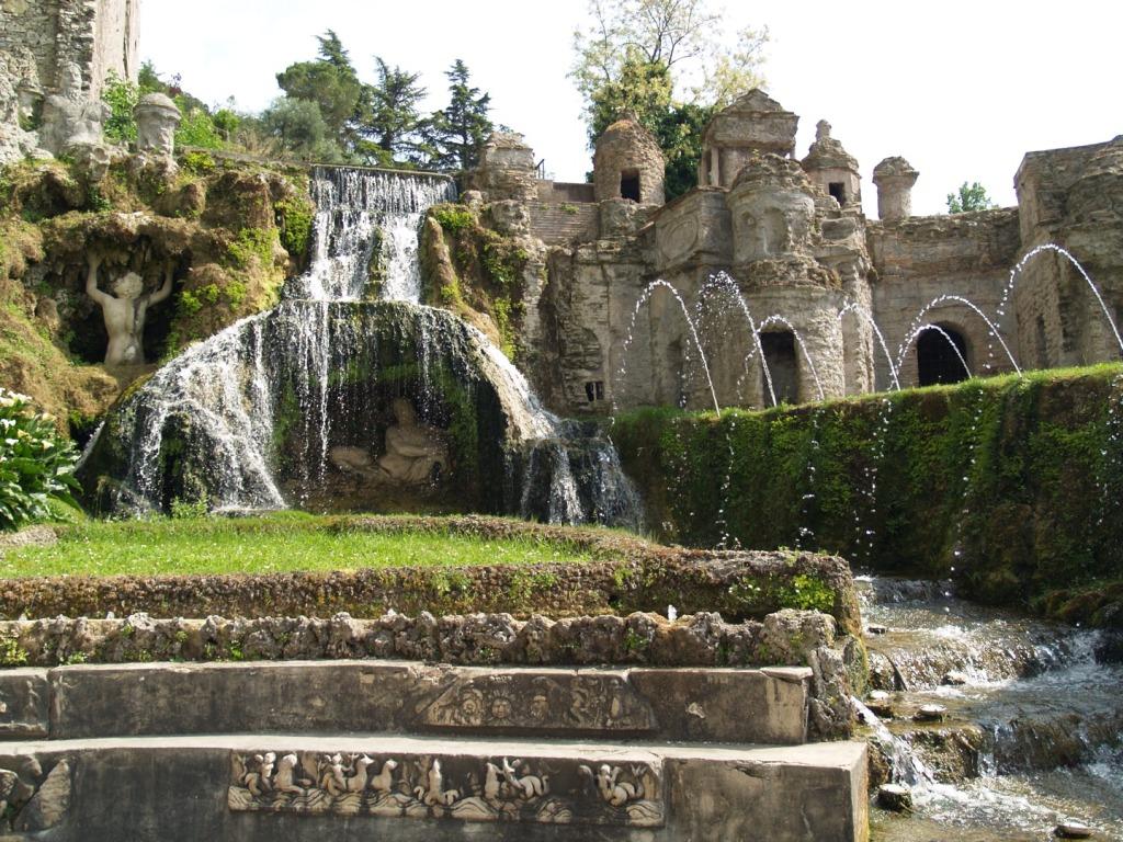 11. Tivoli - Fontana della Rometta nei Giardini di Villa d'Este7
