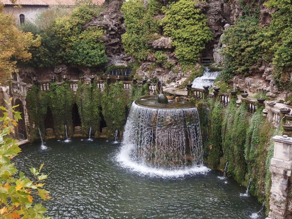 12. Tivoli, Villa d'Este, Fontana dell'Ovato