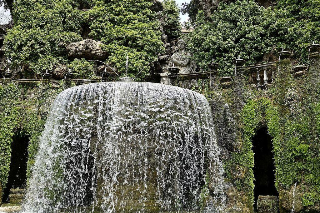 13. Tivoli, Villa d'Este, Fontana dell'Ovato