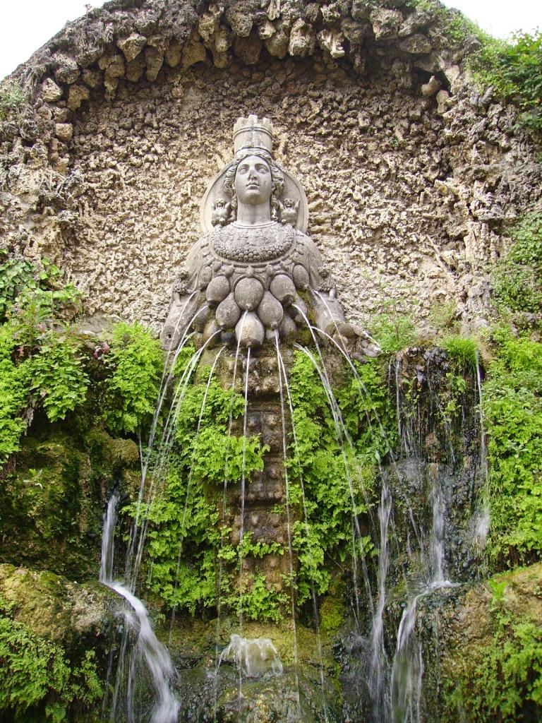 17. Fonte de Diana de Éfeso.Tivoli. Villa d'Este